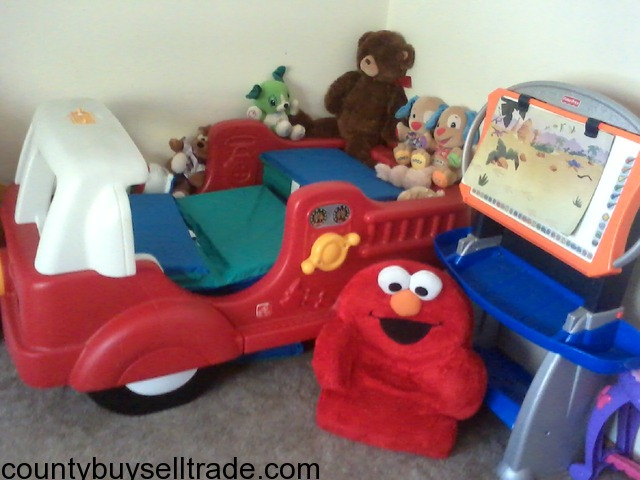 step 2 firetruck toddler bed in clay center clay kansas county buy sell trade
