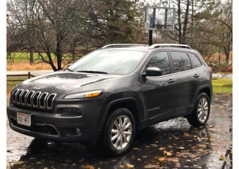 2016 Jeep Cherokee Limited for Sale - $15,700