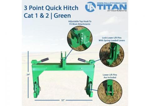 Titan 3 Point Quick Hitch
