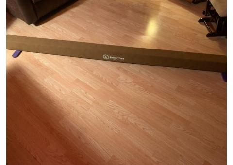 Tumbl Trak Gymnastics Balance Beam- $100