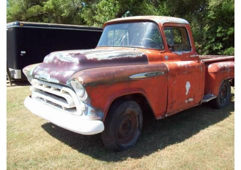 1956 Chevy Pickup Project